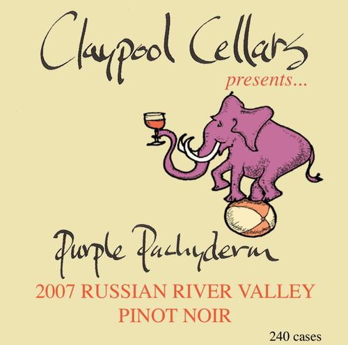 Purple Pachyderm, Claypool cellars